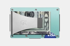 Aluminum - Celeste - Money Clip