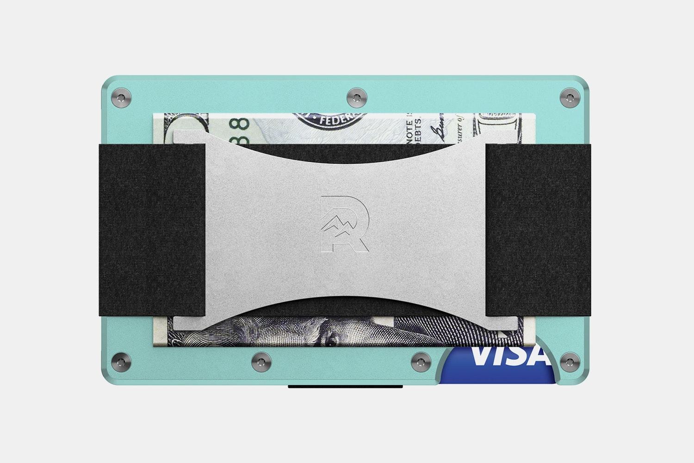 Aluminum - Celeste - Cash Strap
