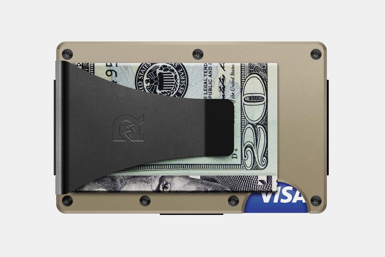 Aluminum - Desert Tan - Money Clip