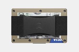 Aluminum-Desert Tan - Cash Strap