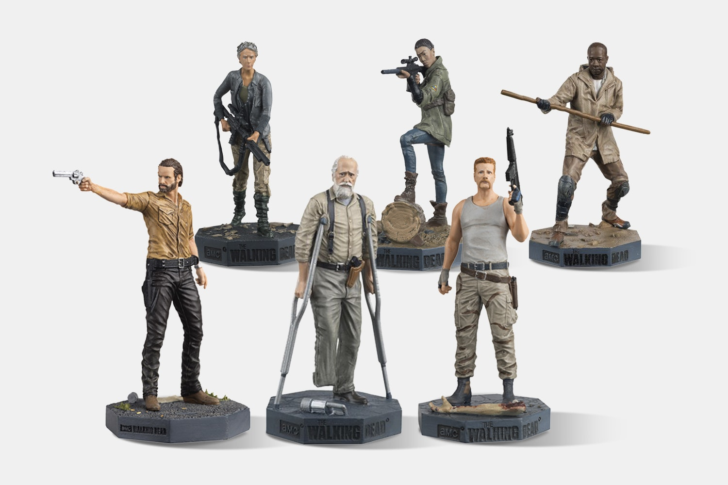 The Walking Dead Collector's Models (3-Pack)