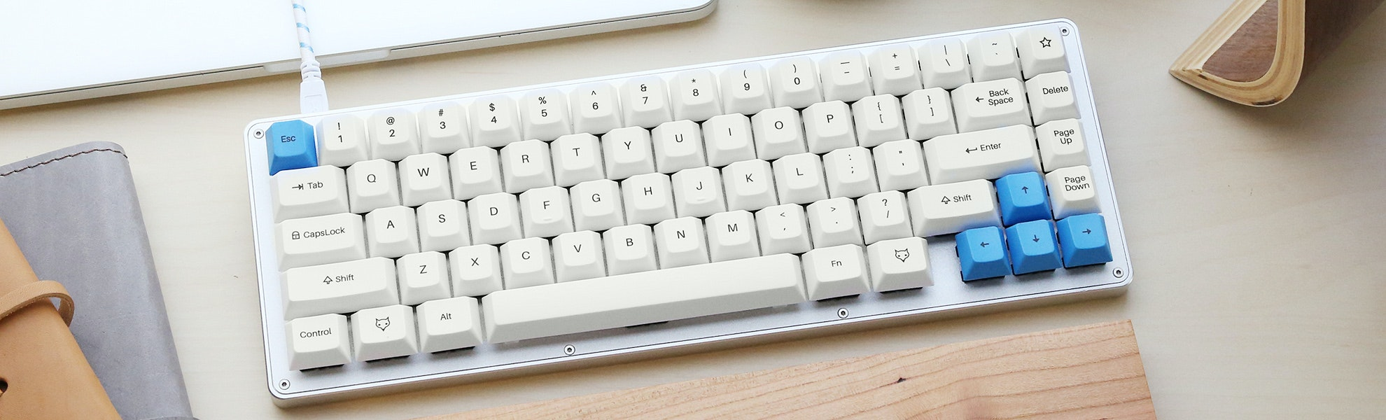 The WhiteFox Keyboard