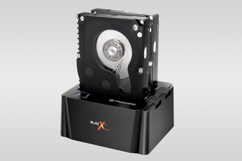 TT BlacX Duet eSATA Dual HD Docking Stations