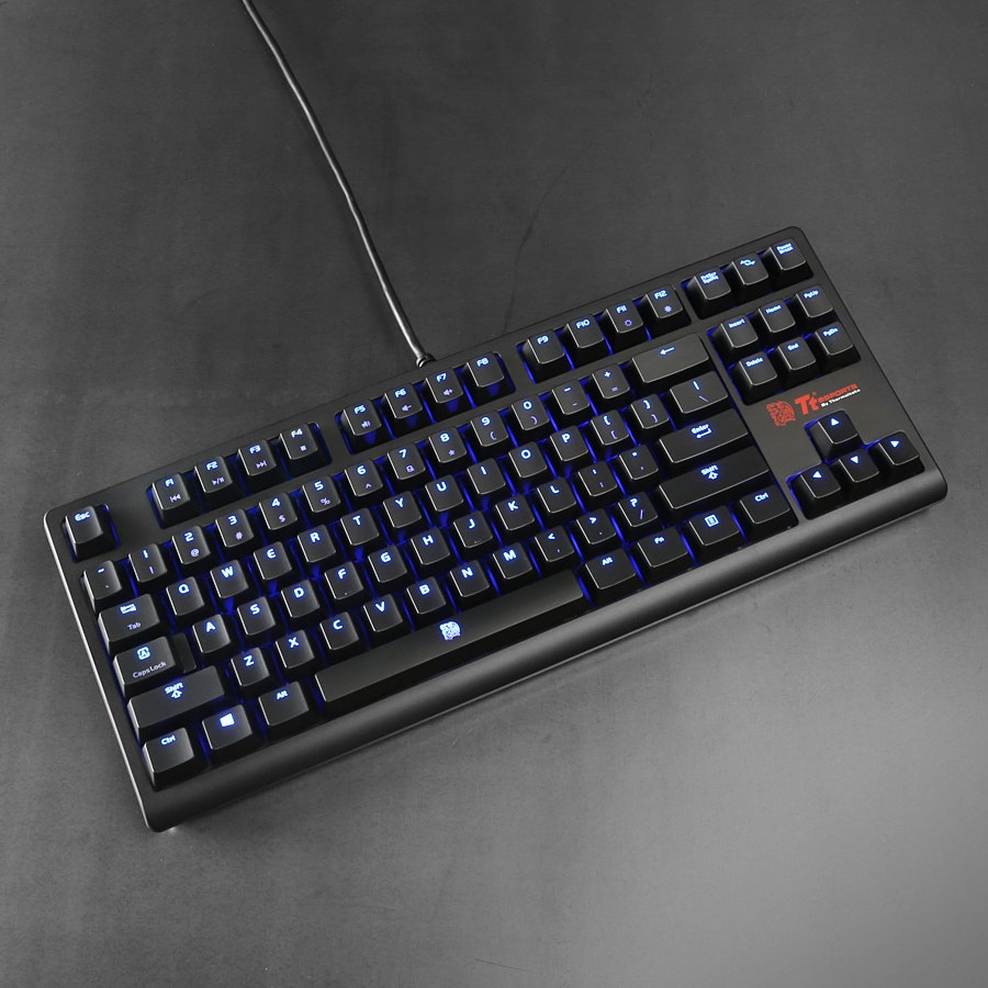 Thermaltake Poseidon ZX Backlit Mechanical Keyboard