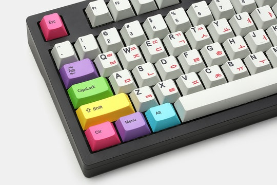 Thick PBT Dye-Subbed Add-On Keycaps Set