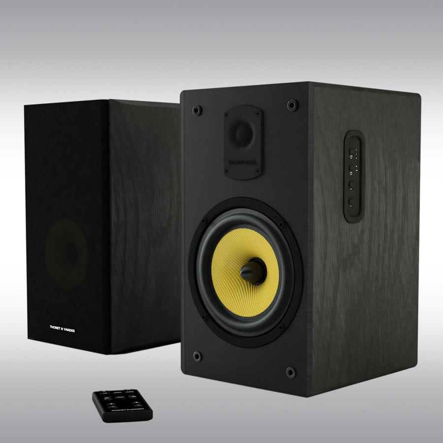 Thonet & Vander Kugel 2.0 Wooden Bookshelf Speakers