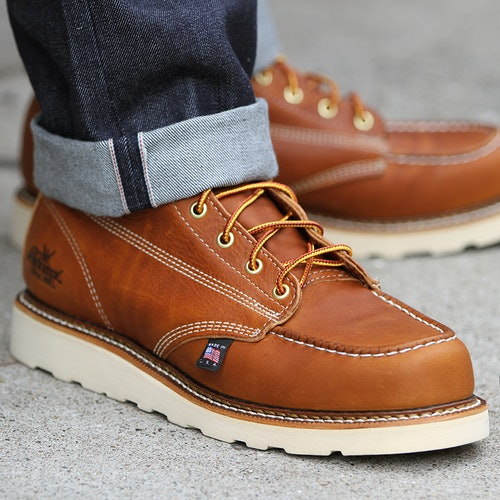 7c74b601d6c Thorogood 8 in Moc Toe Boot | Price & Reviews | Drop (formerly Massdrop)