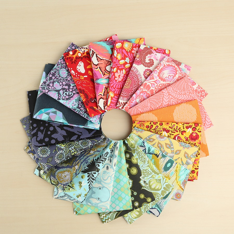 Throwback by Tula Pink Fat Quarter Bundle