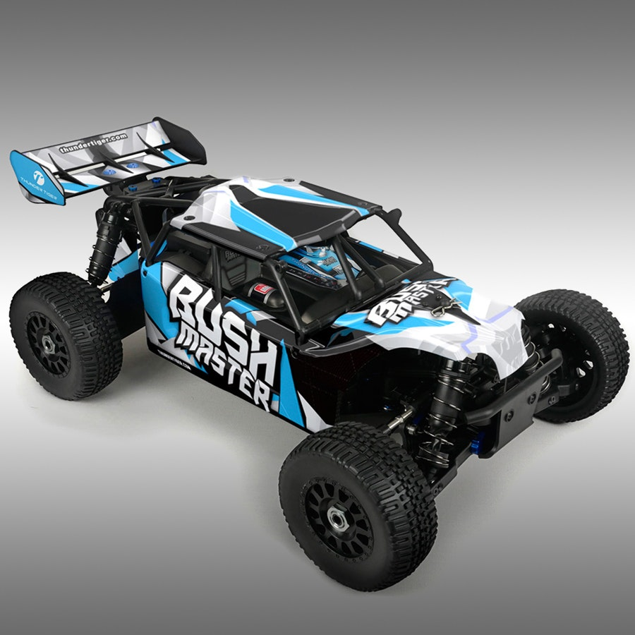 Thunder Tiger Bushmaster 1/8 Brushless Buggy Bundle