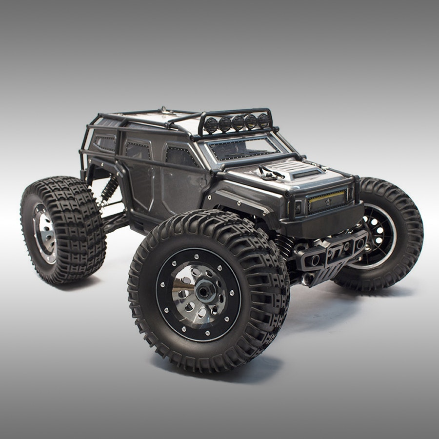 Thunder Tiger EMTA Kaiser RTR Monster Truck Bundle