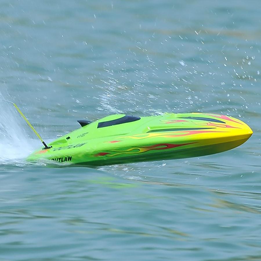 Thunder Tiger Outlaw Jr. Brushless RTR Boat