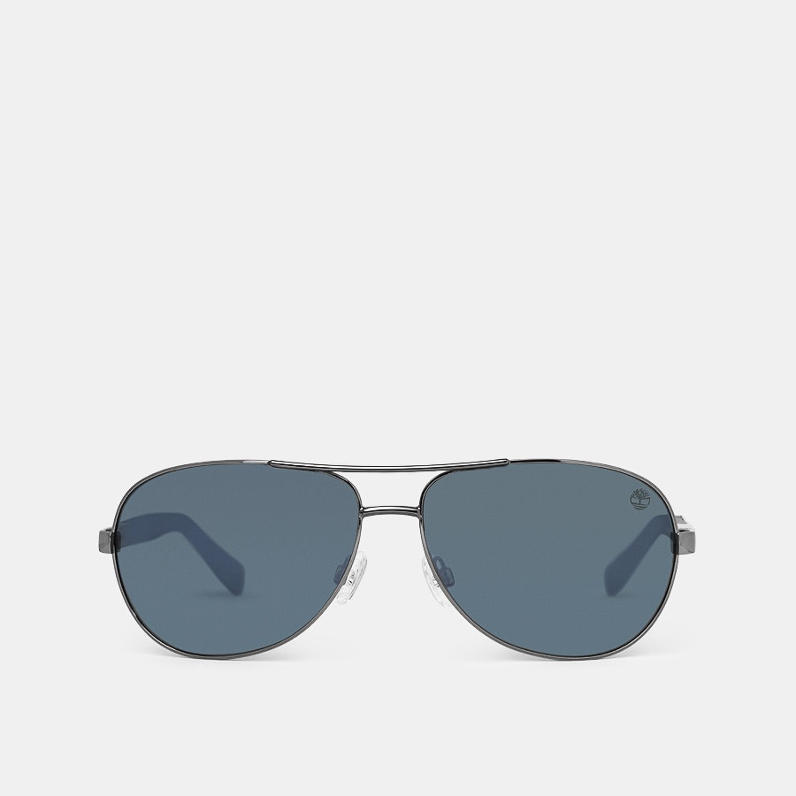 Timberland Polarized Aviator Sunglasses