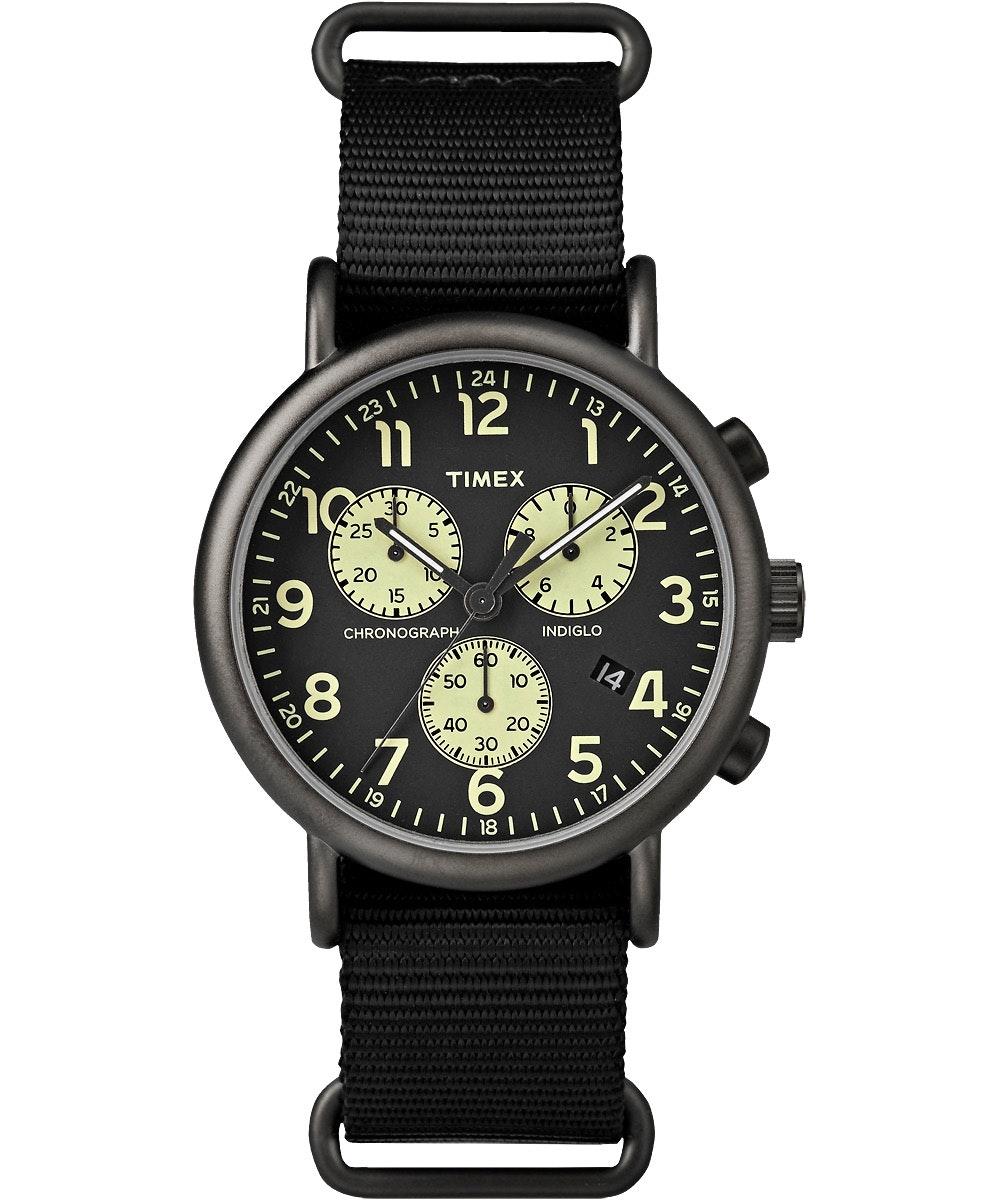 Black dial, black nylon strap TW2P71500