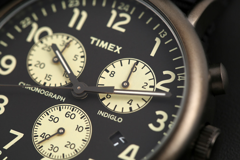 Timex Weekender Chrono Quartz Watch