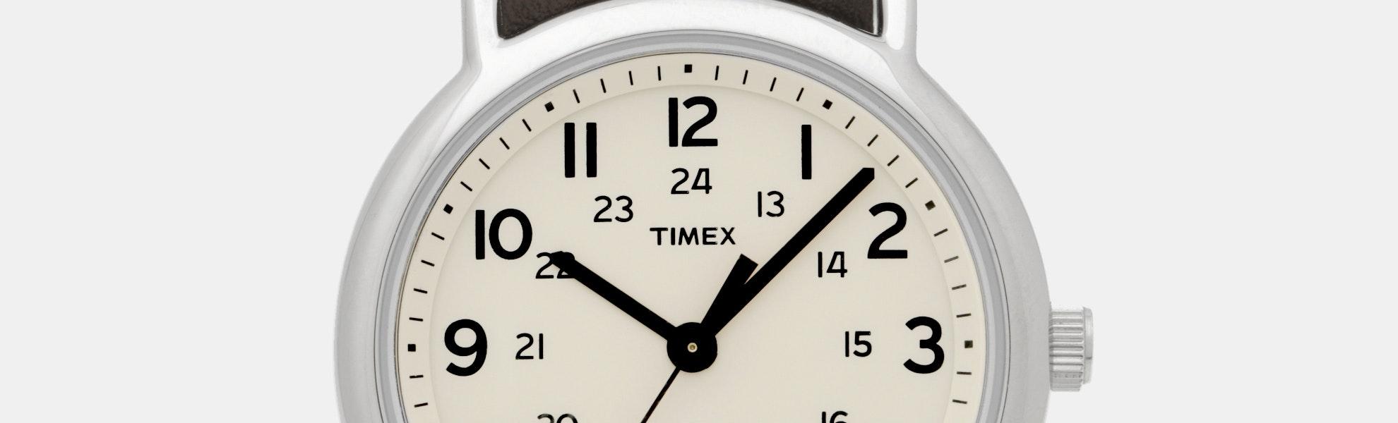 Timex Weekender Quartz Watch