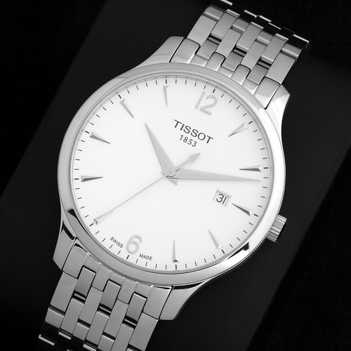 Tissot Tradition Quartz Watch Price Reviews Drop Formerly