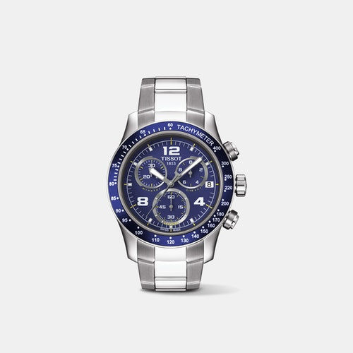 Tissot V8 Chronograph Quartz Watch Price Reviews Drop
