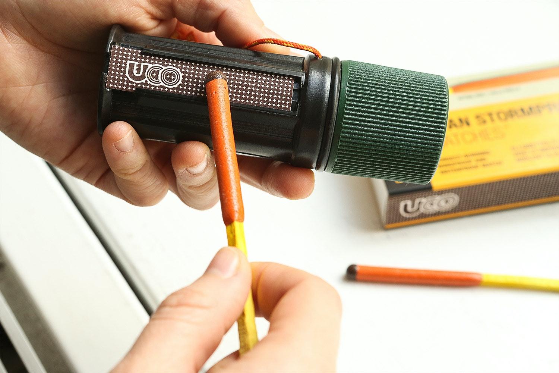 UCO Titan Stormproof Match Kit Bundle