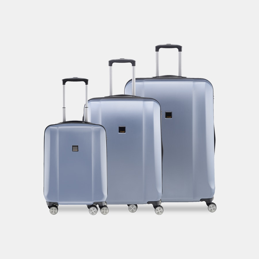 Titan Xenon Spinner Trolley 3-Piece Set