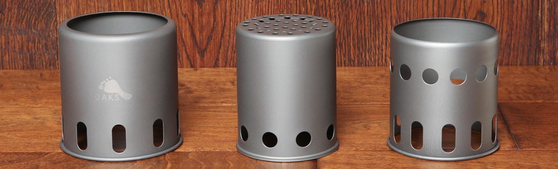Toaks Titanium Small Wood Stove and Pot