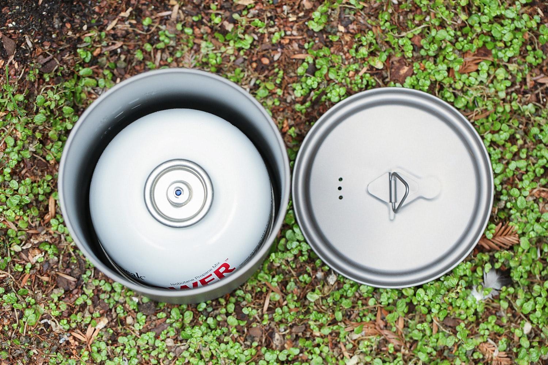 Toaks 750ml Handleless Titanium Pot