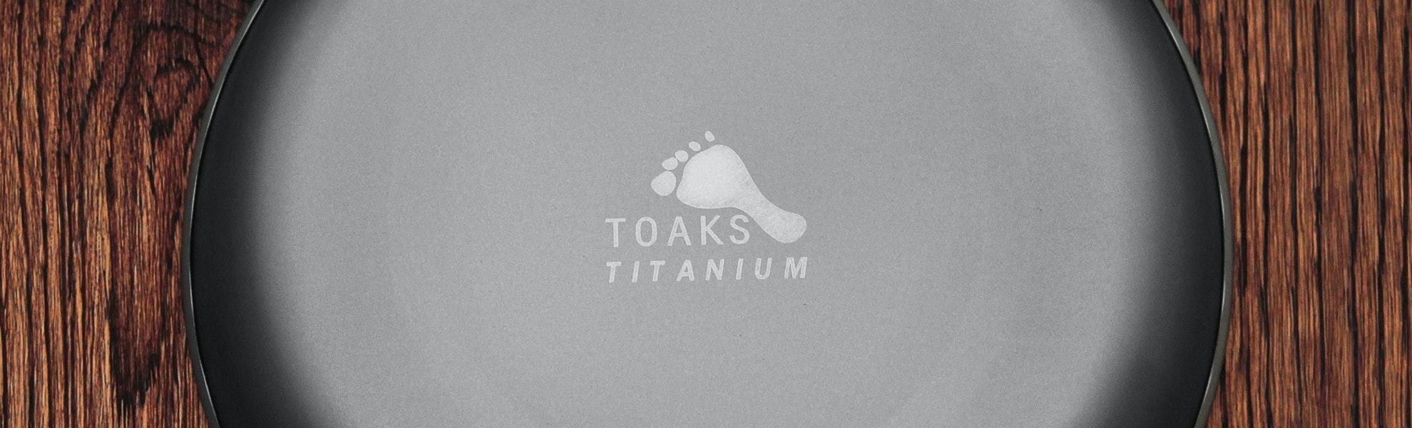 Toaks Titanium Plate (2-pack)