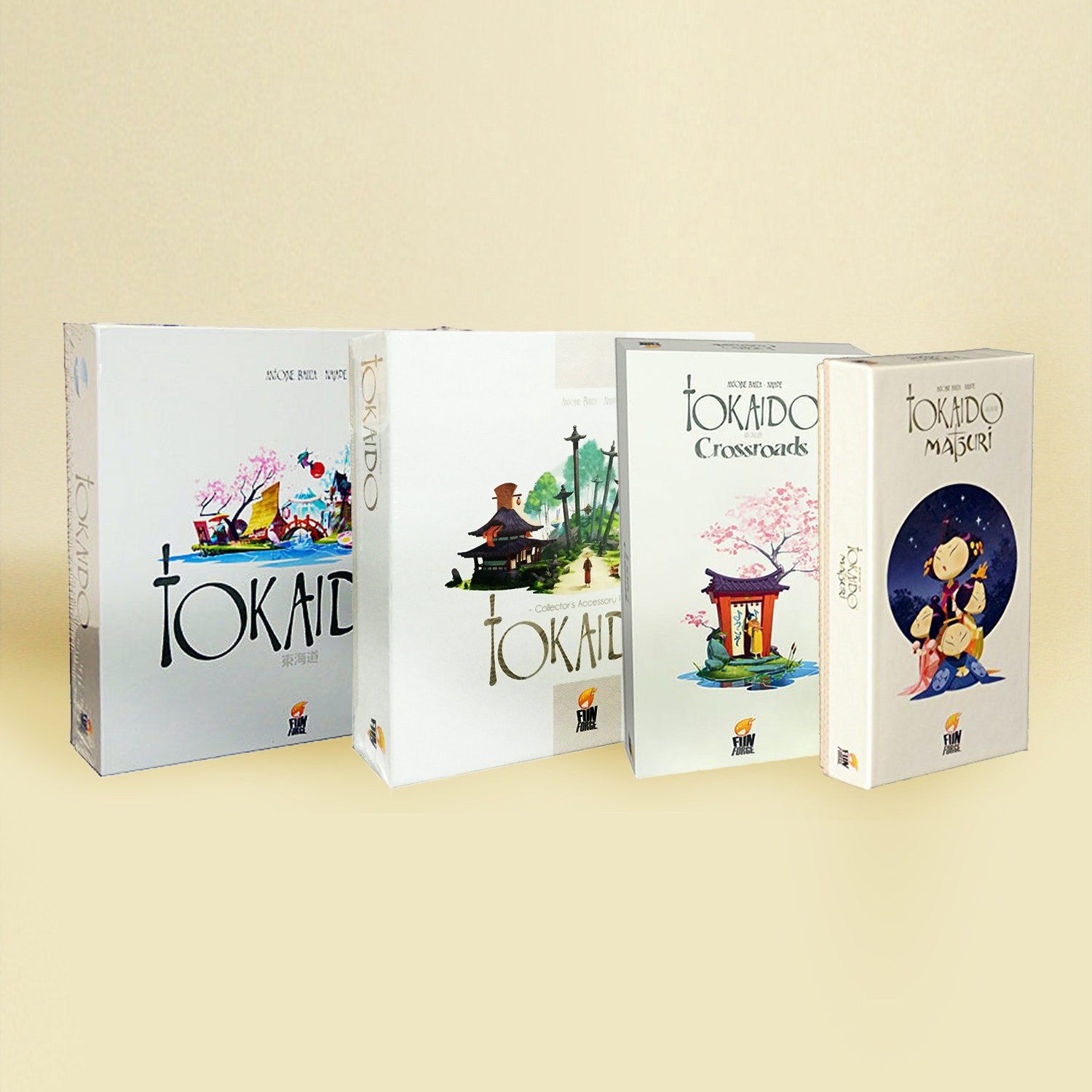Tokaido Board Game & Expansions Bundle
