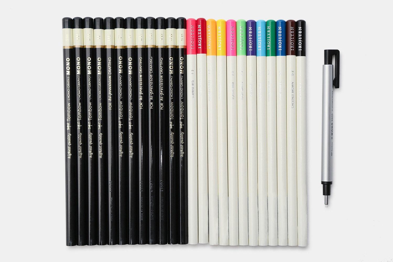 Tombow Irojiten Colored & Drawing Pencil Set Bundle