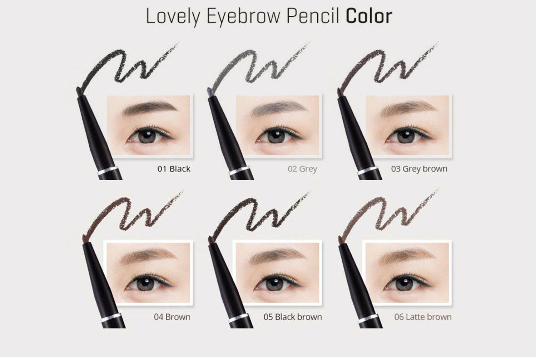 Tony Moly Lovely Eyebrow Pencils (2-Pack)