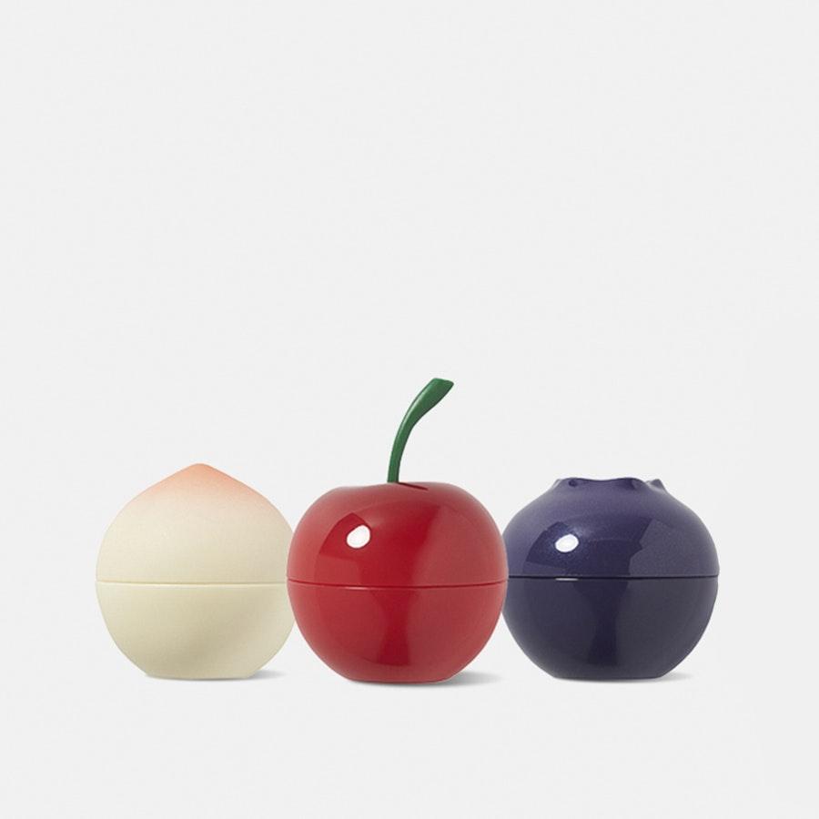 Tony Moly Mini Fruit Lip Balms (3-Pack)