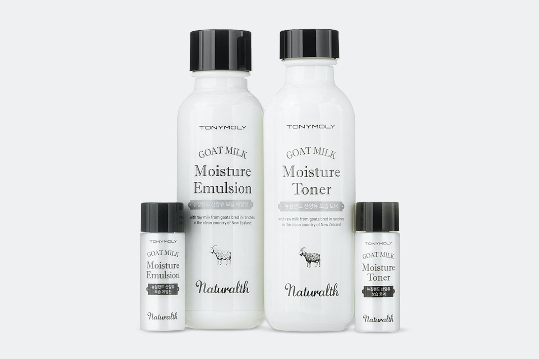 Tony Moly Naturalth Goat Milk Moisture Skincare Set