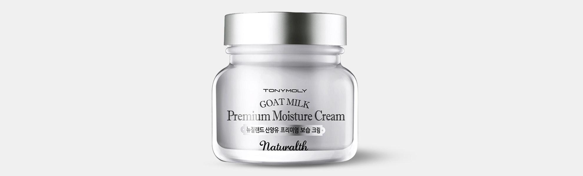 Tony Moly Naturalth Goat Milk Premium Cream