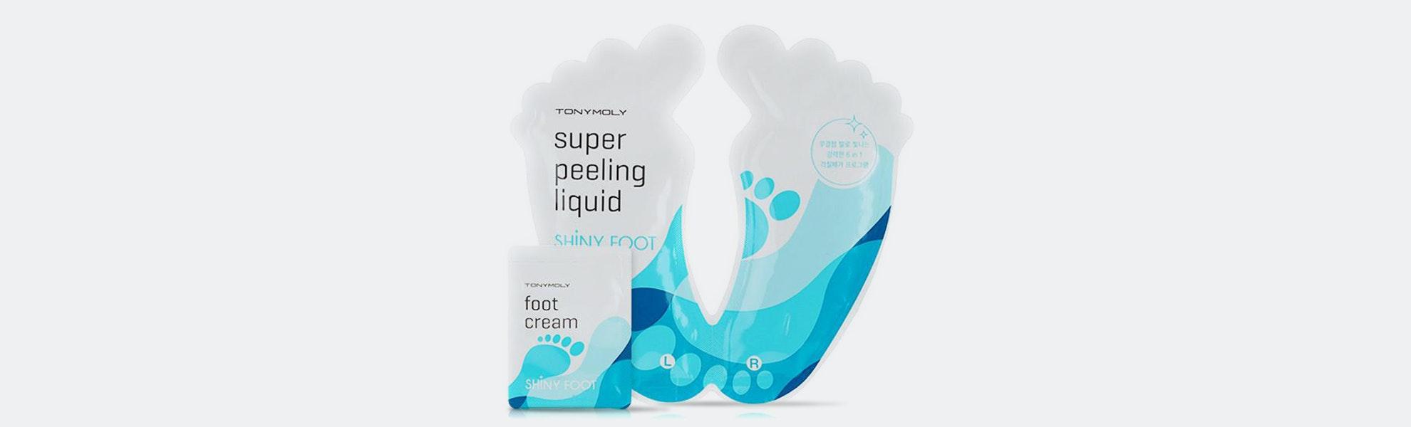 Tony Moly Shiny Foot Super Peeling Liquid