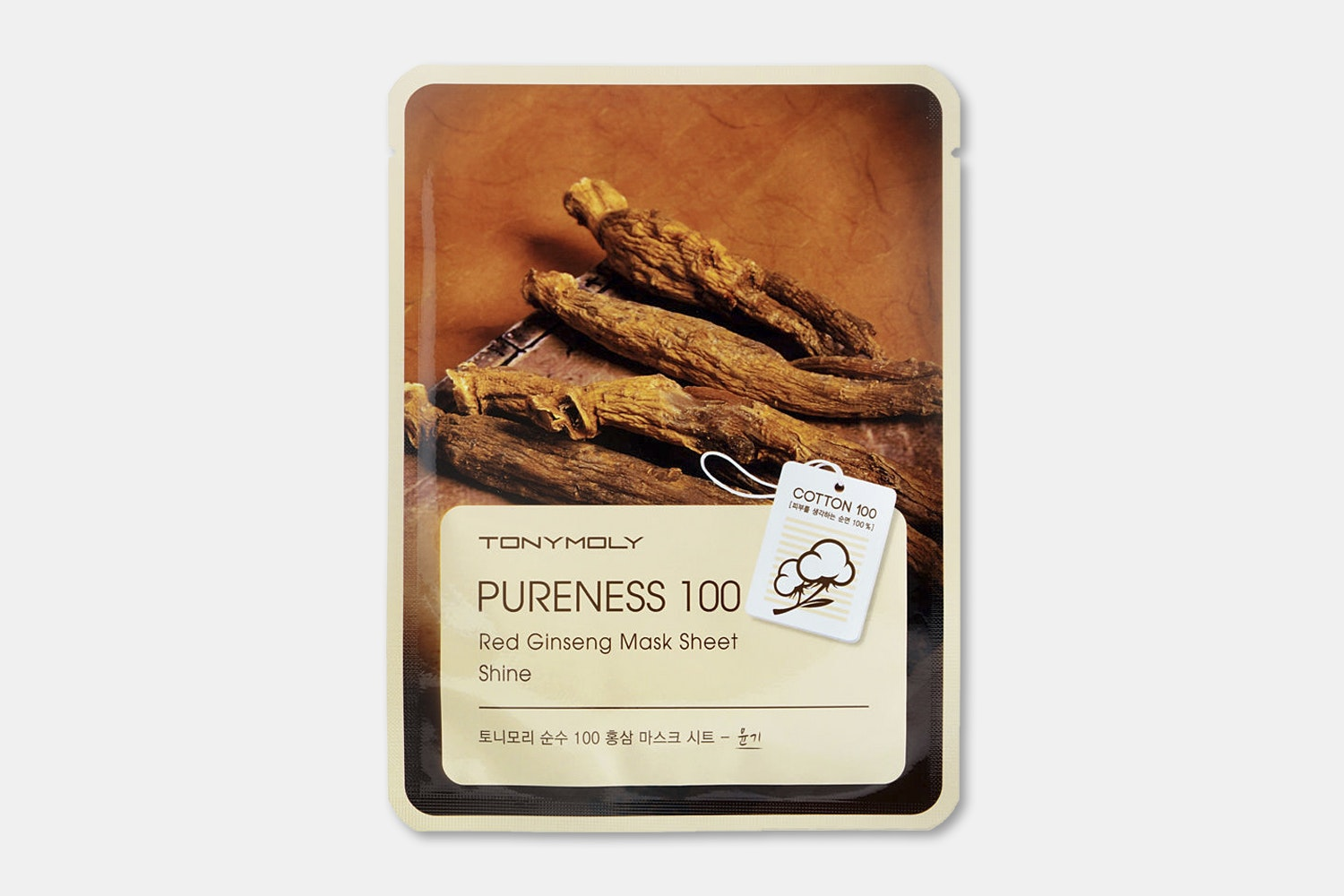 Pureness 100 red ginseng mask