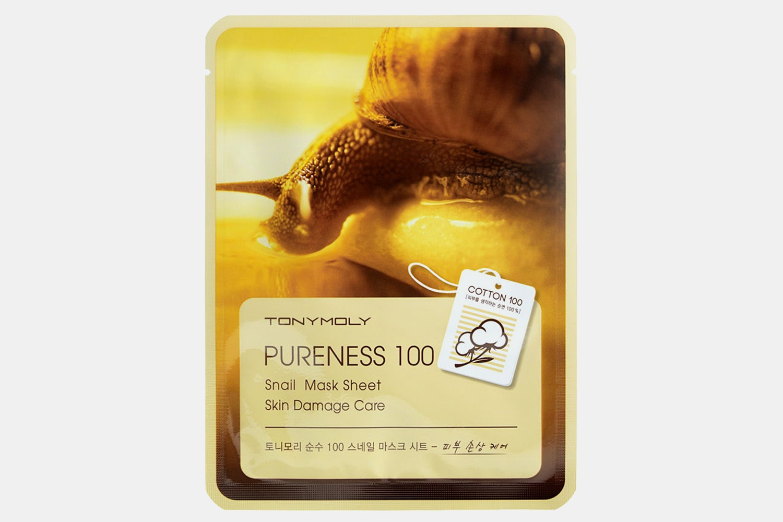 Pureness 100 snail mucin mask