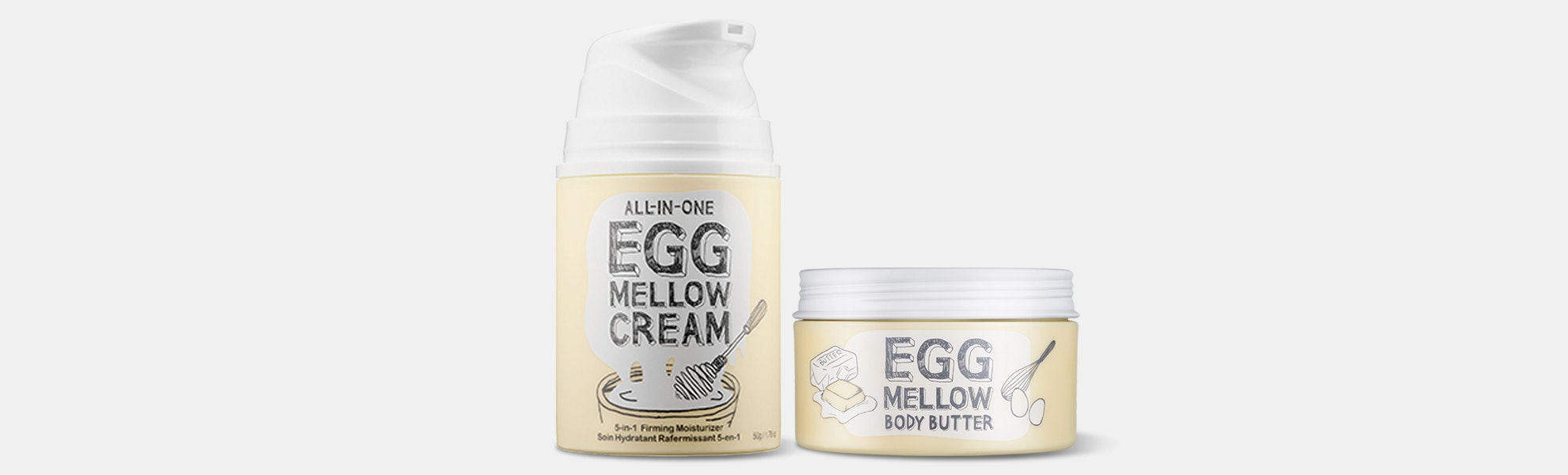 Too Cool for School Egg Mellow Body Butter & Cream