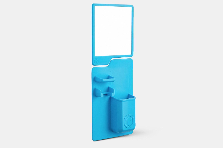 Tooletries Toothbrush Holder & Mirror Pack