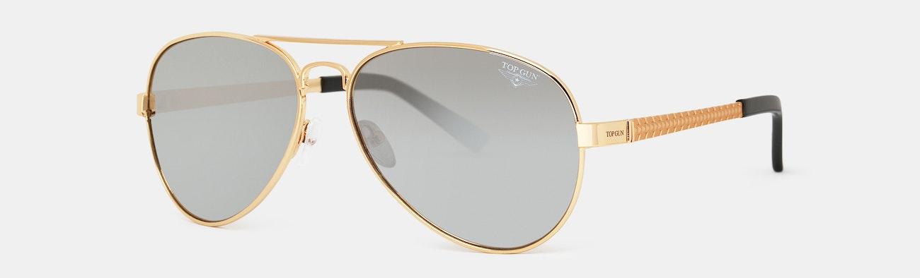 35d0771e075 Top Gun Polarized Aviator Sunglasses
