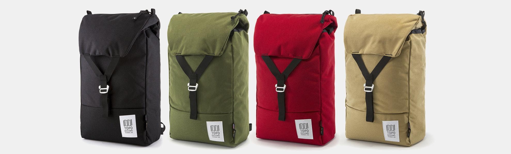 Topo Designs Y-Pack Backpacks