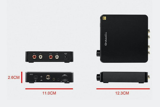 Topping A50 Headphone Amp