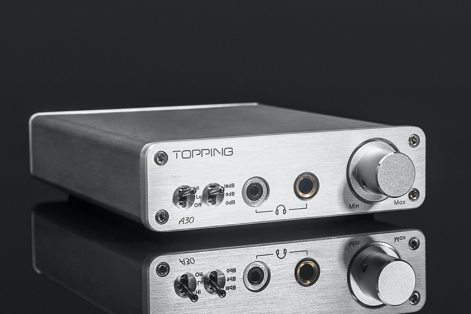 Topping D30 DAC, A30 Headphone Amp & PA3 Stereo Amp