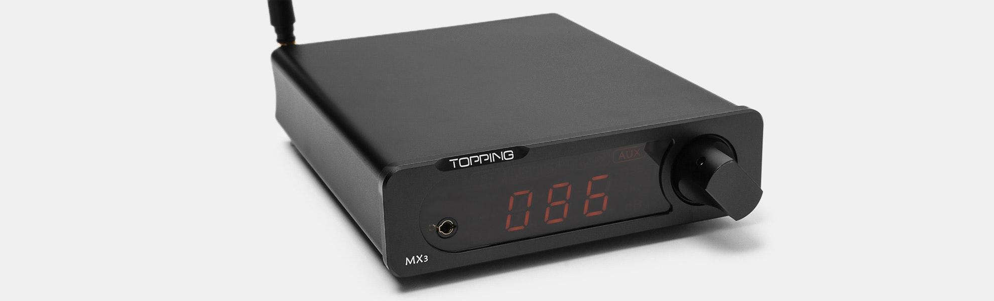 Topping MX3 Power/Headphone Amp w/ Bluetooth