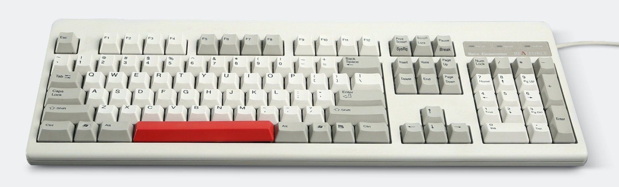 Topre Realforce 104U Keyboard with PBT Spacebars