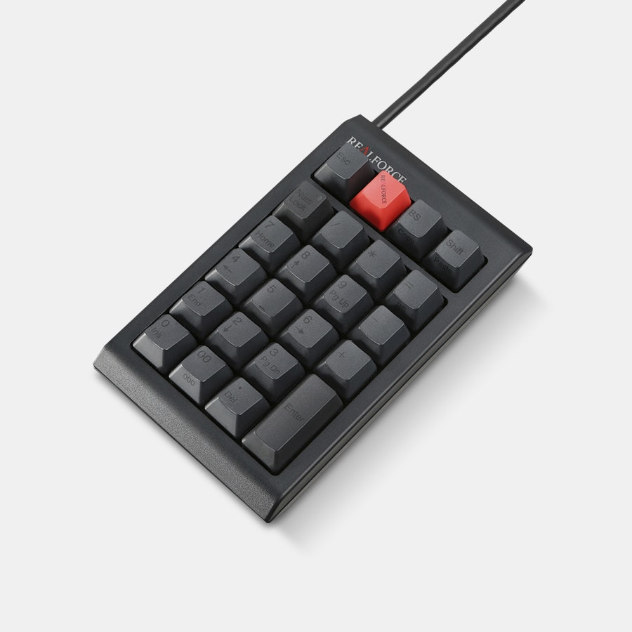 Topre Realforce Numpad Bundle