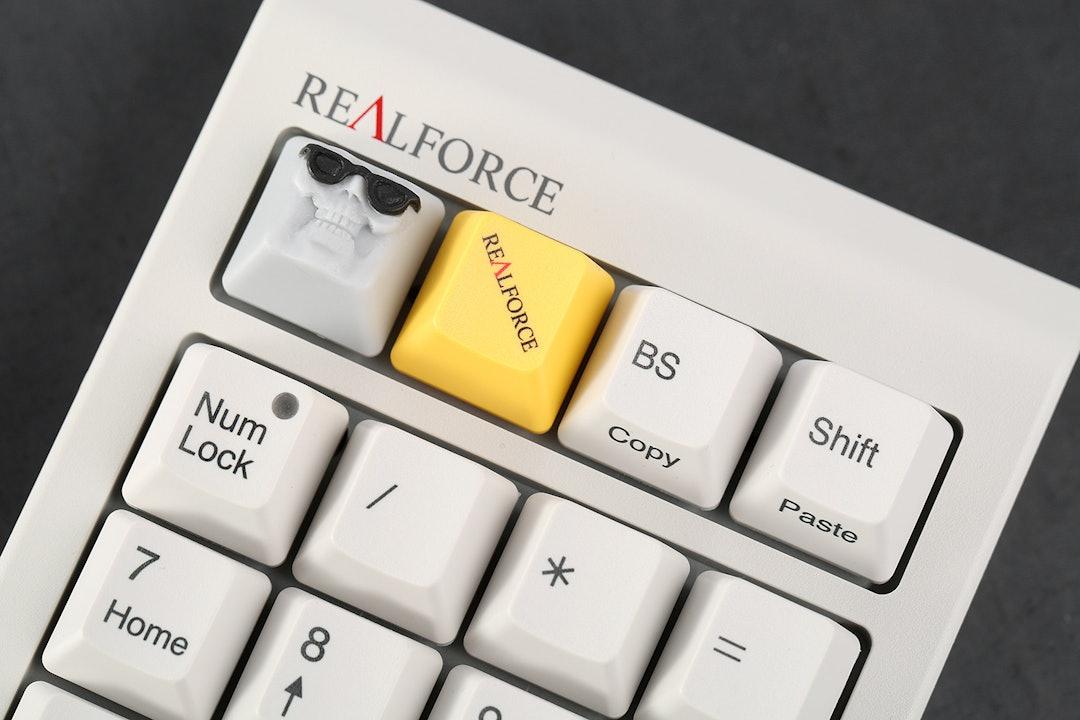 Topre Realforce Numpad with Custom Bingecap