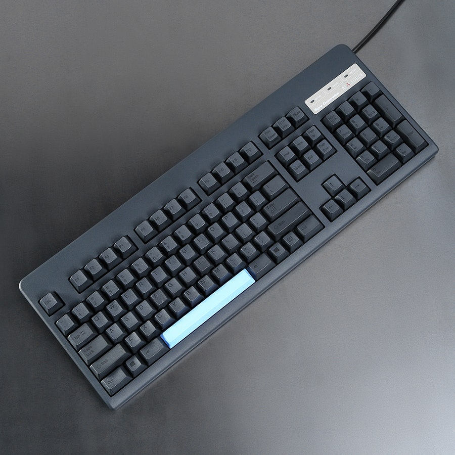 Topre Silenced 104U With PBT Spacebars