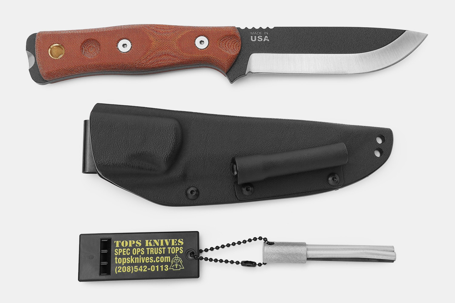 TOPS Knives B.O.B. Fieldcraft Series Knives