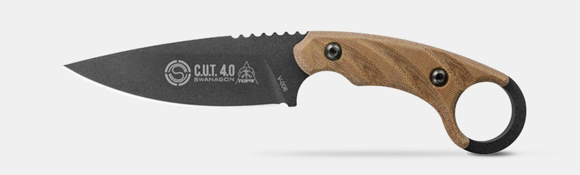TOPS Knives C.U.T. 4.0 Combat Utility Tool Knife