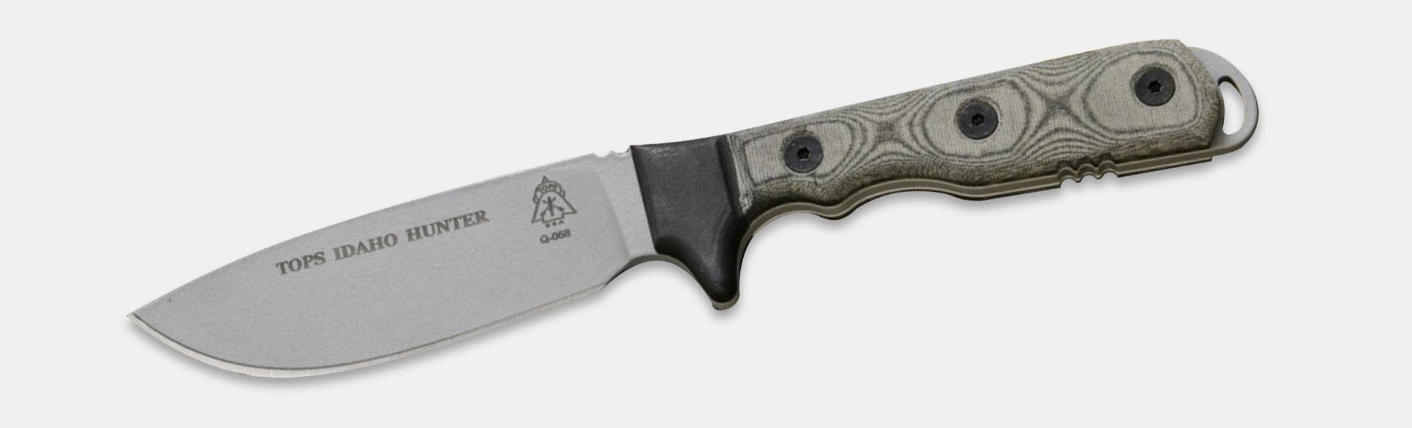 TOPS Knives: Idaho Hunter Fixed Blade Knife