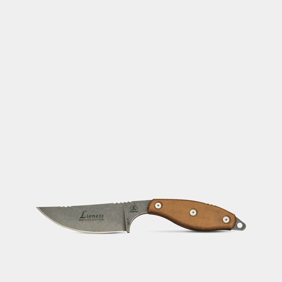TOPS Knives Lioness Fixed Blade Knife